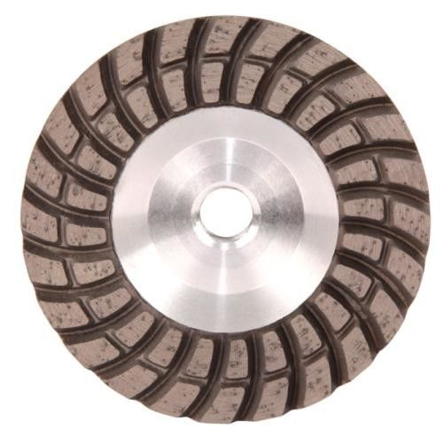 Double Turbo Row Diamond Grinding Disc For Concrete / Porcelin Tiles / Masonry